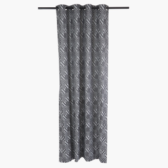Urban Printed Curtain Pair - 135x240 cms