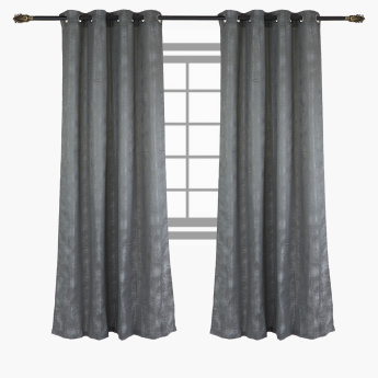 Elwood Printed Curtain Pair - 140x240 cms