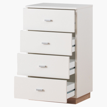 Moonlight 4-Drawer Rectangular Chest of Drawers