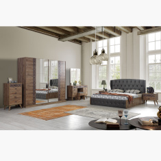 Burcham 6-Piece King Bedroom Set - 180x200 cms