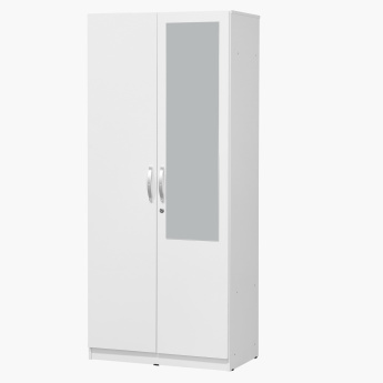 Joy Agata 2-Door Wardrobe with Mirror