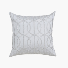 Celtic Textured Cushion Cover - 40x40 cms