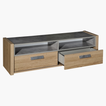 Cementino 2-Drawer TV Unit for TVs up to 70 inches
