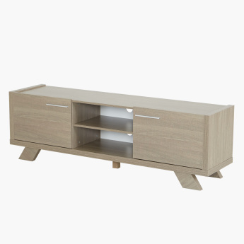 Cathy 2-Door Low TV Unit for TVs up to 75 inches