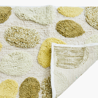 Pebbles Textured Bath Mat - 50x80 cms