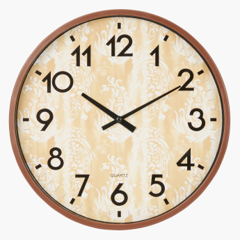 Breeze  Printed Round Wall Clock