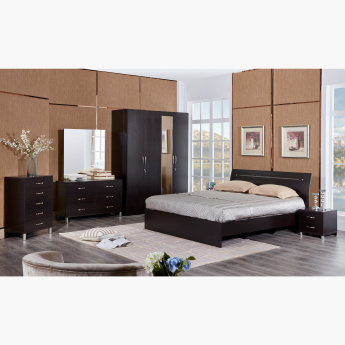 Apollo King Bed with Curved Headboard - 180x200 cms