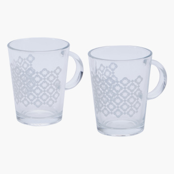 Midas Printed 2-Piece Coffee Mug Set - 290 ml