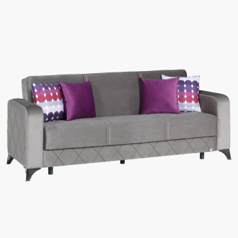 Moonlight 3-Seater Sofa Bed with Cushions