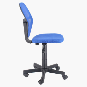 Costagat Armless Adjustable Office Chair with Swivel Wheels