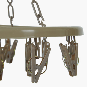 Swift Clothes Hanger with 16 Pegs