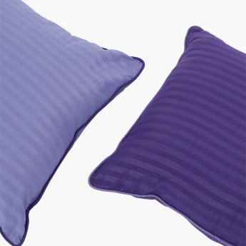 Bristol Striped 2-Piece Filled Cushion Set - 45x45 cms
