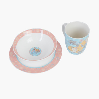Frozen Printed 3-Piece Breakfast Set