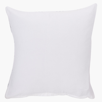 Meiline Printed Cushion Cover with Zip Closure - 40x40 cms