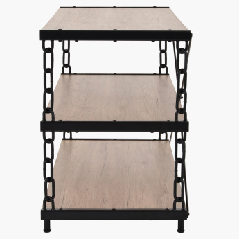 Crofton 3-Shelf Low TV Unit for TVs up to 55 inches