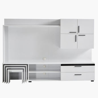 Picasso 2-Drawer Wall Unit with Nest of Tables