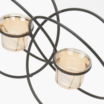Parch Decorative 2-Piece Candle Holder
