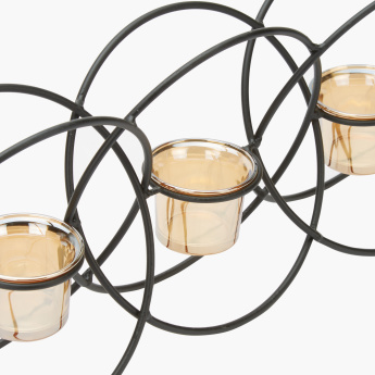 Parch Decorative 3-Piece Candle Holder