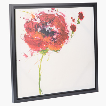 Carnation Printed Picture Frame - 50x50 cms