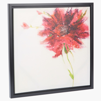 Dahlia Printed Picture Frame - 50x50 cms