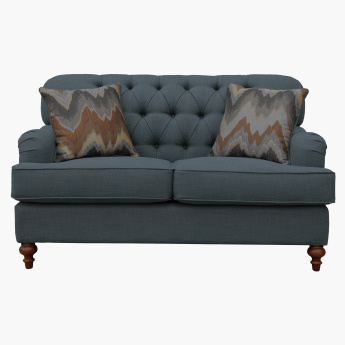 Country 2-Seater Sofa with 2 Cushions