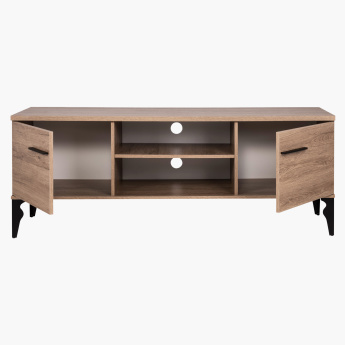 Lukenz Low TV Unit with Storage for TVs up to 65 inches