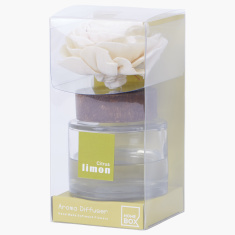 Lemon Citrus Aroma Diffuser with Aroma Oil Bottle - 75 ml