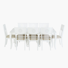 Queen Anne 8-Seater Dining Set