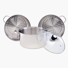 Prime 3-Tier Steamer with Lid