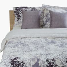 Andy Printed 5-Piece Super King Comforter Set - 240x240 cms