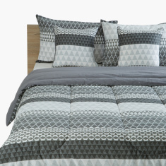 Hannah Printed 5-Piece King Comforter Set - 220x240 cms