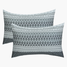 Hannah Printed Pillow Cover - Set of 2