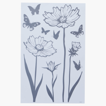 Flora Room Decor Sticker