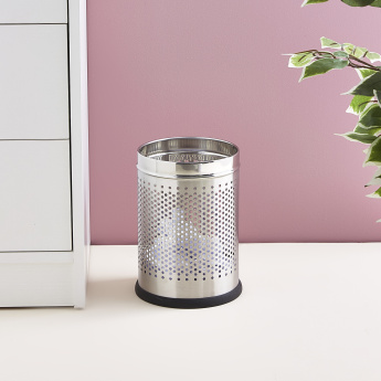 Sanity Perforated Round Waste Bin - 6 L