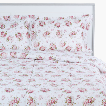 Rossete Printed 3-Piece King Comforter Set - 240x220 cms