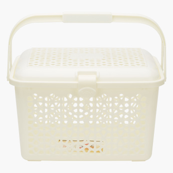Florina Rectangle Picnic Basket with Handles