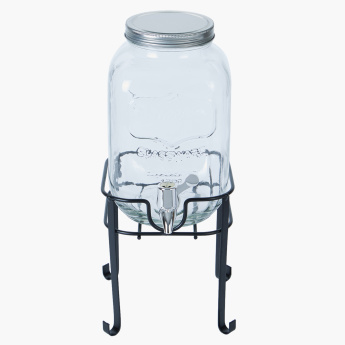 Orchid Beverage Dispenser with Stand - 4 L