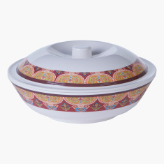 Marakesh Printed Serving Bowl with Lid