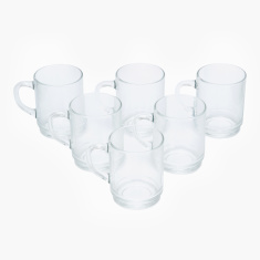 Pearl Stackbale Mug - Set of 6