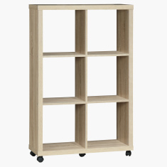 Costagat Sonoma 6 Cube Divider with Swivel Wheels