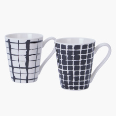 Urban Printed Mug - Set of 2