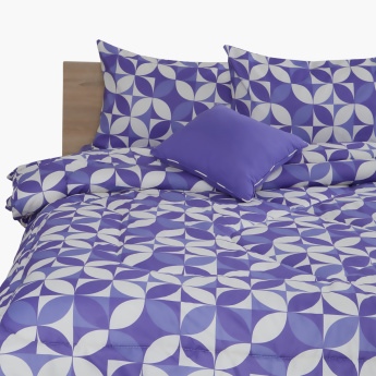 Sarah Printed 5-Piece Twin Comforter Set - 200x120 cms