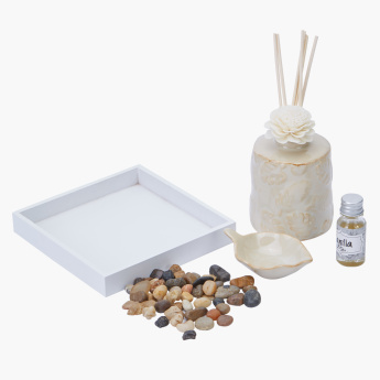 Palm Reed Diffuser Set