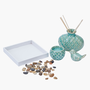 Bird Textured 3-Piece Reed Diffuser Set