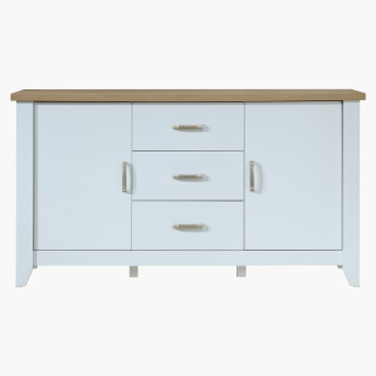Sky Matte 2 Door 3 Drawer Sideboard