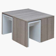 Tria Square Coffee Table with 4 End Tables