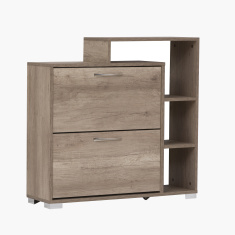 Dina 15-Pair Shoe Cabinet