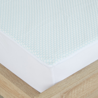 Cooling Gel King Mattress Protector - 180x200 cms