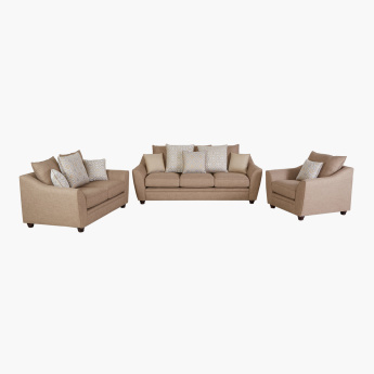 Docila 3-Seater Sofa with 8 Scatter Cushions