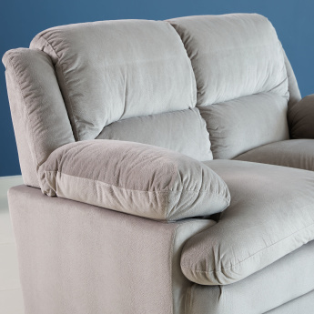 Fiona 2-Seater Sofa with Curved Arm